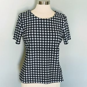 3/$20 Jules & Leopold Gingham Top